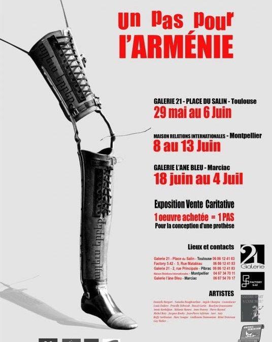 Marciac, Toulouse et Montpellier : l'exposition «Un Pas Pour l'Arménie» à voir dans quatre lieux du 29 mai au 6 juin
