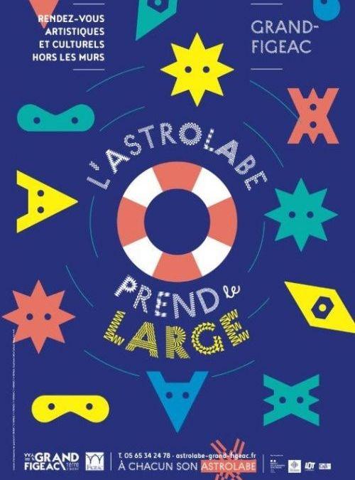 Figeac : des rendez-vous culturels tout l'été avec l'Astrolabe