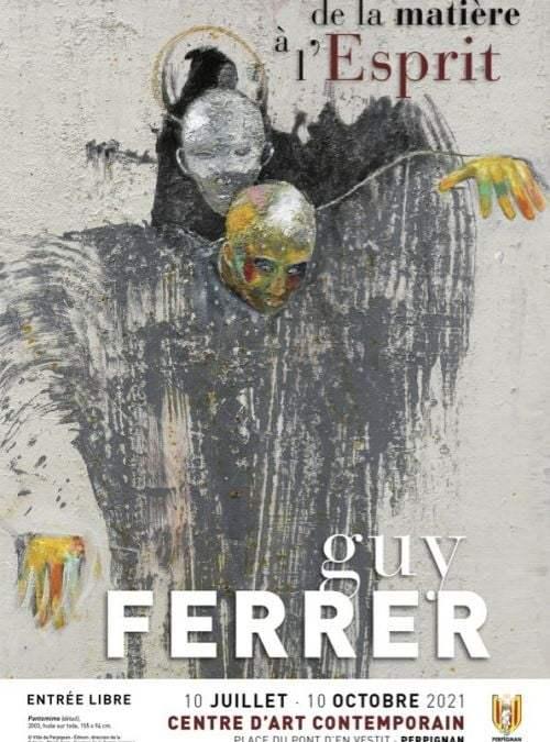 Perpignan : Guy Ferrer présenté au Centre d'art contemporain jusqu'au 10 octobre