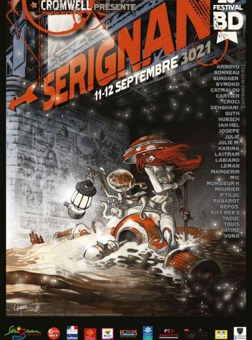 Sérignan : rendez-vous pour le festival BD les 11 et 12 septembre