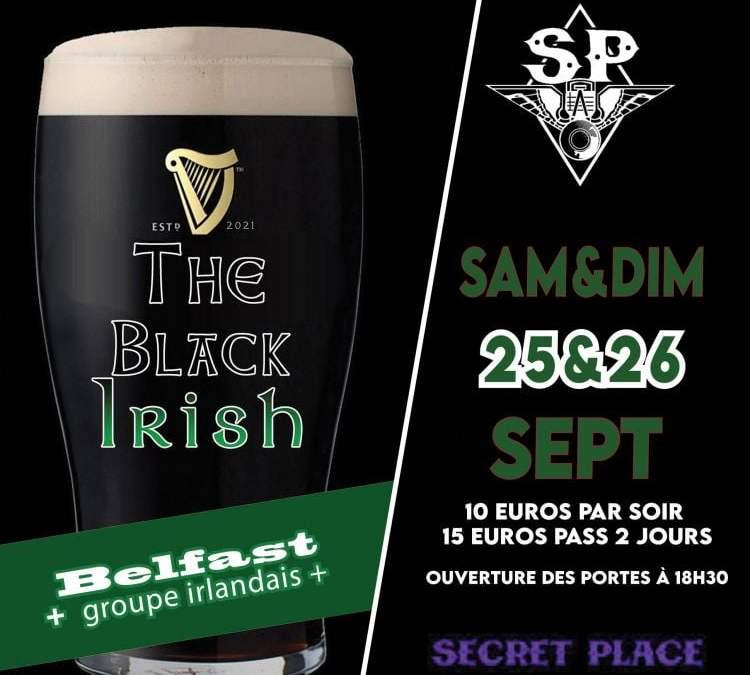 St-Jean-de-Védas : un week-end irlandais à la Secret Place les 25 et 26 septembre !