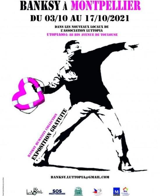 Montpellier : une exposition Banksy du 3 au 17 octobre