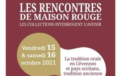 Saint-Jean-du-Gard : un week-end autour du conte à Maison Rouge les 16 et 17 octobre