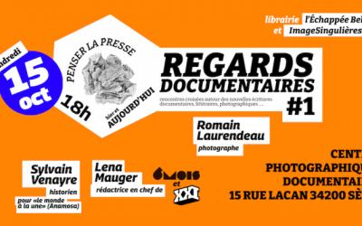 Sète : avec «Regards documentaires», la librairie l'Échappée Belle et ImageSingulières s'associent pour des rencontres