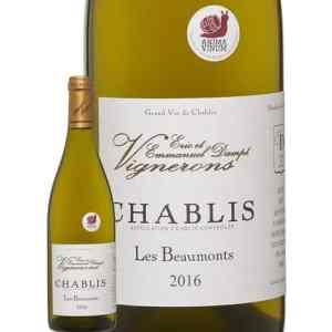 Vin Blanc Bourgogne Chablis Les Beaumonts 2016