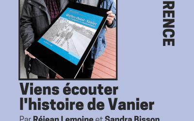 Conférence de Réjean Lemoine et Sandra Bisson