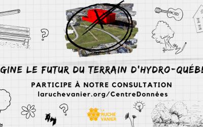 Consultation sur l'aménagement du terrain d'Hydro-Québec