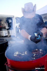 Papa La Rue's BBQ at Indio California State BBQ Championship