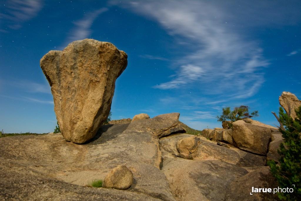 Balanced Rock in Granite Mountains, Scottsdale, AZ