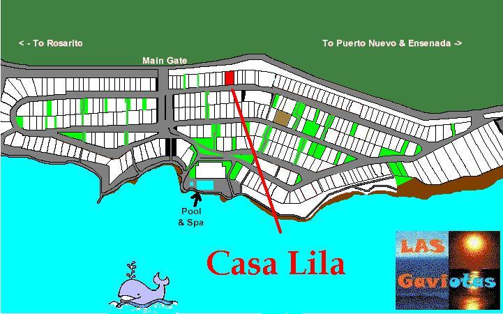 Casa Lila 23 Pelicanos Este  Las Gaviotas