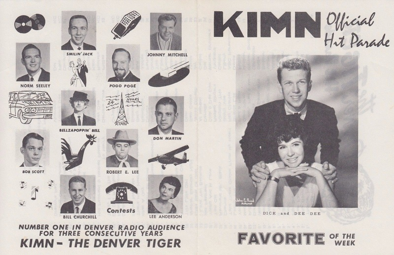 KIMN's Jay Mack – perhaps the most popular Boss Jock ever – appeared in  July of 1963. His dry humor and use of many character voice clips rendered  his show ...