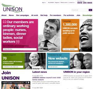 new unison site