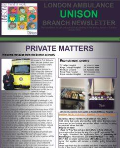 Private Ambulances | LAS UNISON