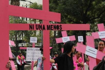 #NiUnaMenos Ciudad de México, 2015