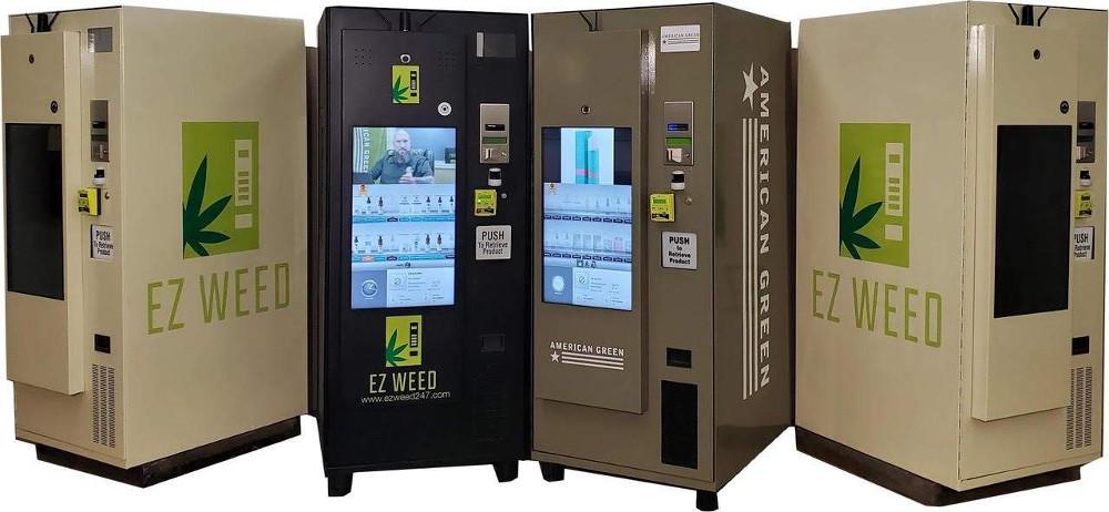 Vending machines de cannabis: un camino difícil