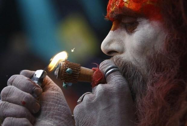 Los sadhus, ascetas de Shiva