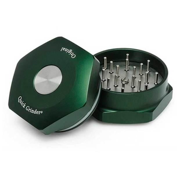 Moler cannabis: Grinder con botón automático
