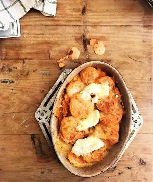 recette rapide gratin patates douces