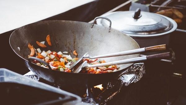 cuisson douce au wok
