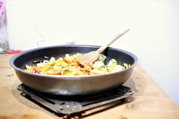 recette wok legumes poulet recette de saison