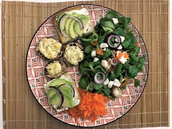 salade d'hiver recette facile recette de saison