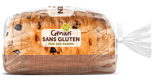 pain sans gluten marque genius intolérance alimentaire