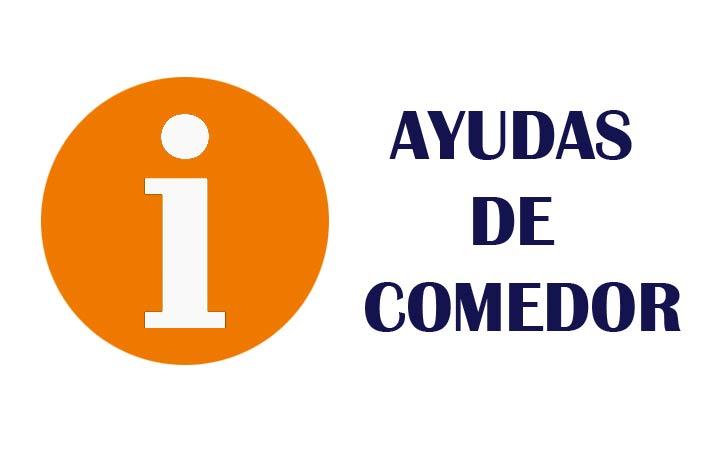 AYUDAS DE COMEDOR