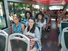 En el bus turístico