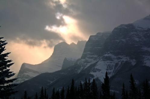 Perfil montañoso PN Banff