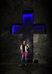 Cruces dentro de la mina
