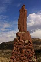 Espada Inca, Valle de la Luna, La Paz, Bolivia