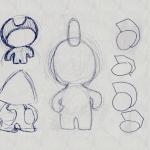 Recherche graphique pour l'Art Toy