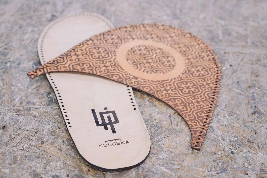 Sandale en cuir au fabcafe de toulouse