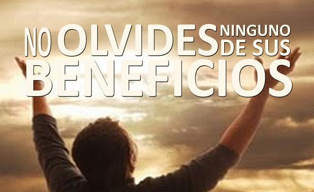 NO OLVIDES NINGUNO DE SUS BENEFICIOS
