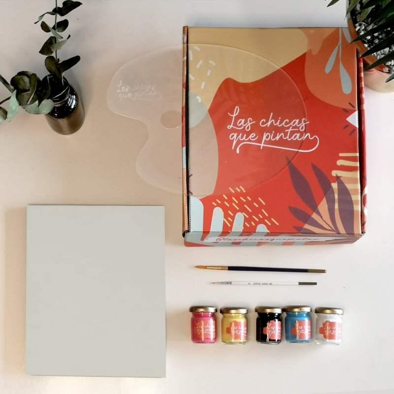 kit de acrílico las chicas que pintan