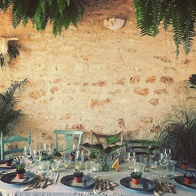 Another angle of the barn from the last wedding ???? Ph. by @margge // #lascicadasibiza #eventvenue #ibizaevents #ibiza2016 #villarental #rustic #ibizencan #farm #santagertrudis #tacopacowedding ????