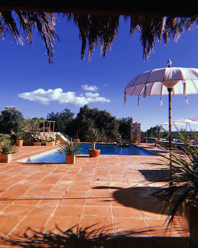 // September Still Summer // #september #stillsummer #endofseason #summer2018 #ibiza2018 #ibiza #lascicadasibiza #boutiquevilla #holidayhome #pool #bliss