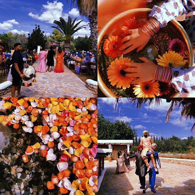 /// Cicadas Celebration Indian Style /// 🌼🧡🐘📿🌺 /// #lascicadasibiza #cicadascelebration #indianwedding #colourful #joyful #weloveit #event #weddingseason2018 #ibiza #india 💜🌼🙌🏼