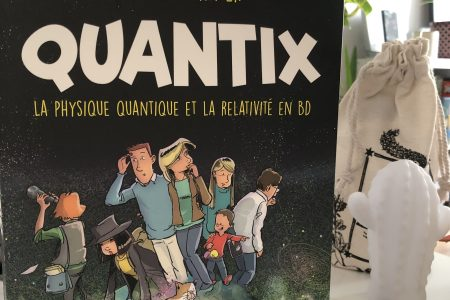Quantix, Laurent Schafer, Vulgarisation Scientifique, Bande Dessinée, Physique Quantique