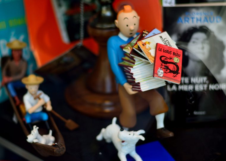 Tintin, sciences, communication scientifique, culture populaire
