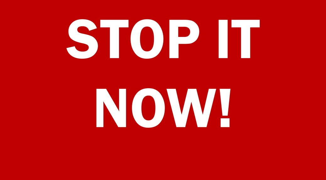 Stop it now! Blog post from lingerie and sex toy marketing agency Lascivious Marketing urging sellers of erotic lingerie, sex toys, fetishwear, latex, and dating sites to provide more meaningful and relevant blog content