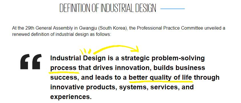 definicion diseño industrial