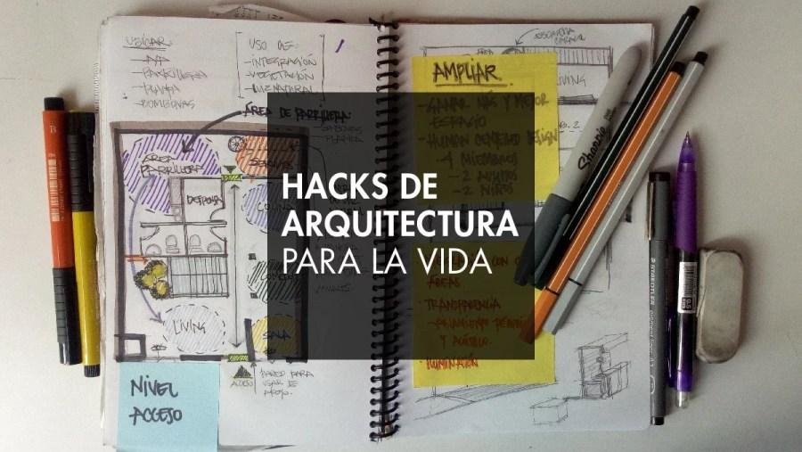 hacks bocetos arquitectura