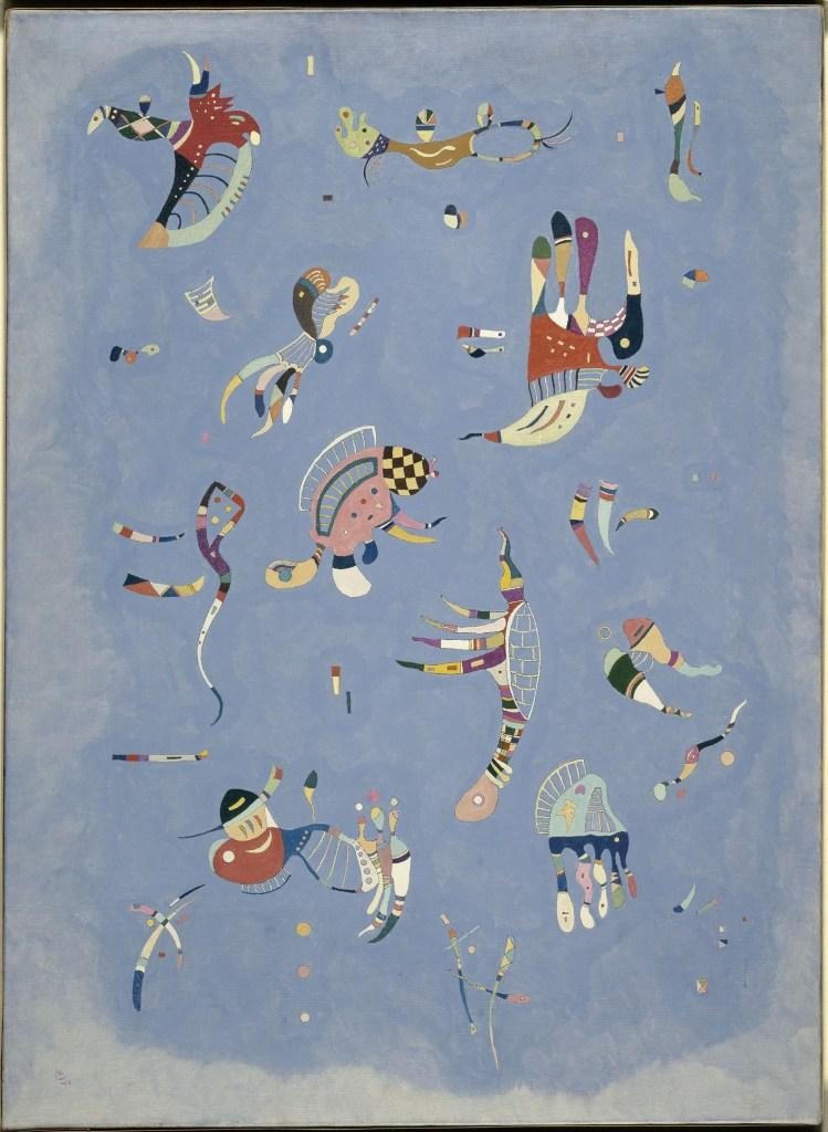 Bleu de ciel (Cielo azul) 1940. Óleo sobre lienzo 100 x 73 cm.