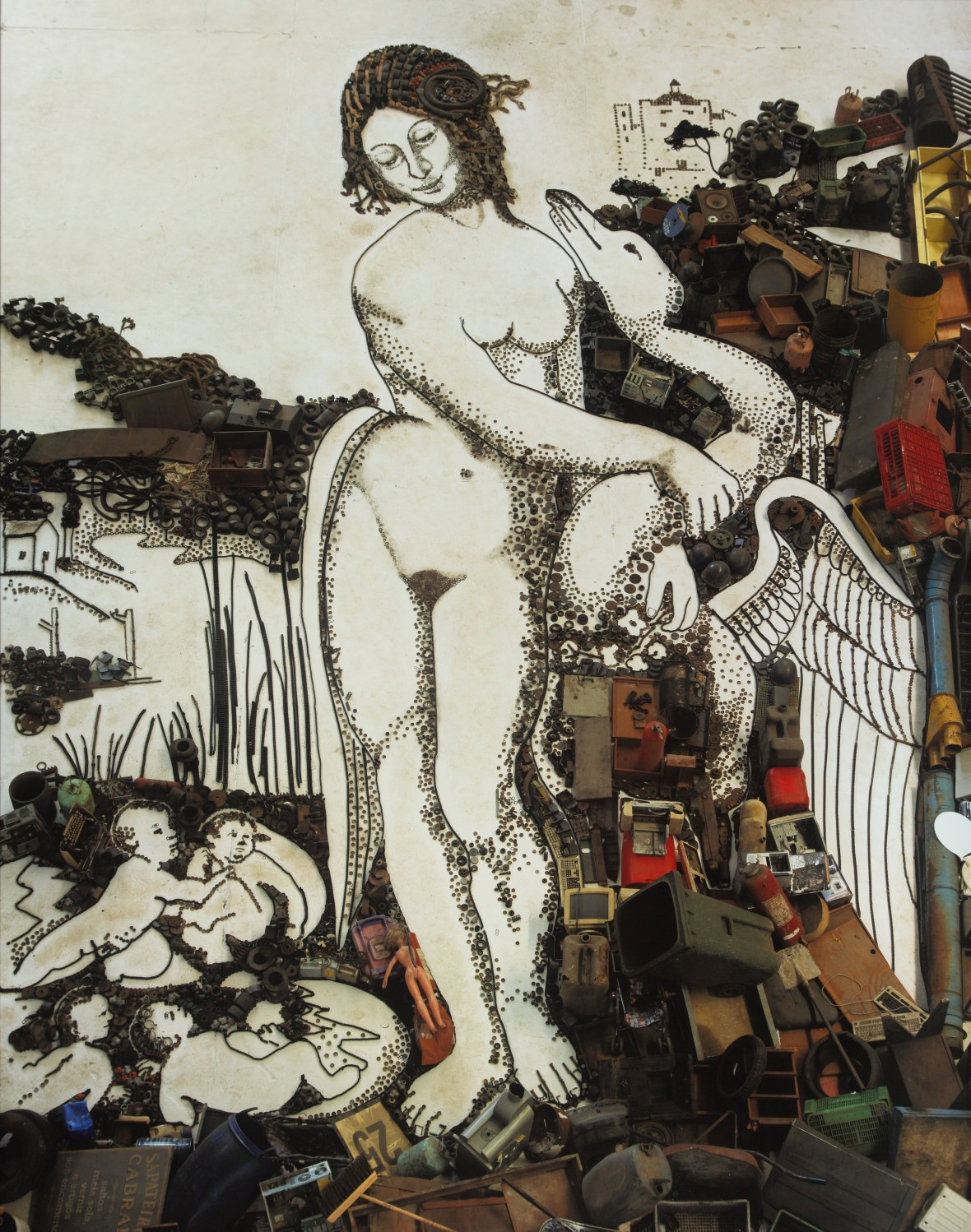 Leda and the Swan_2011.6 Muniz