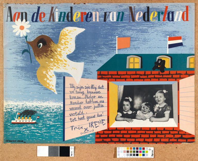 07.- Jan Lewitt (Jan Le Witt) George Him_Aan de kinderen von Nederland_1944_