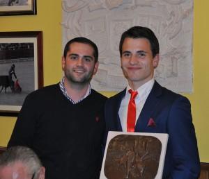 Eusebio Fernandez y Antonio Perez de PT Victoriano