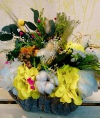 centro flores preservadas las cosas de lur