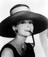 mi morena foto de Audrey Hepburn de Hollywood dorado