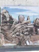 mi morena graffiti de palmas en el Puerto de Santa María. Sentir el sur.